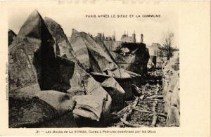 CPA PARIS Apres le siege de la Cmmune Le Docks de la Villette (305552)