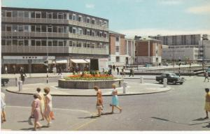 Postcard Surrey Croydon Suffolk House and Fairfield Halls
