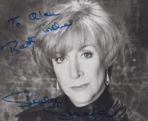 Sheila Steafel The Good Old Days Quatermass Hammer Horror Film Hand Signed Photo