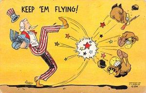 Uncle Sam Keep 'Em Flying USA 1942