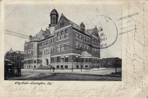 City Hall, COVINGTON, Kentucky, PU-1907