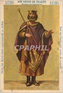 Chromo Reims For Sisters of Charity (Dagobert II)