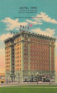 SEATTLE , Washington , 1930-40s ; Hotel Frye