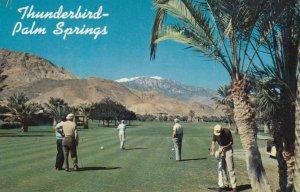 PALM SPRINGS, California, 1950-60s; Thunderbird Golf and Country Club