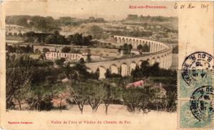 CPA AIX-en-PROVENCE Vallee de l'arc et Viaduc du Chemin de Fer (339916)