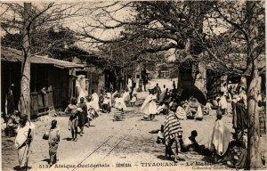CPA AK Tivaouane - Le Marché SENEGAL (778703)