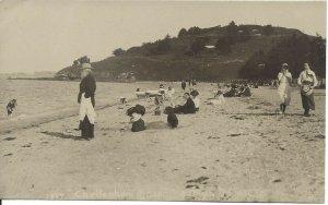 Cheltenham Beach, New Zealand,  W.T. Wilson Photo, Unused (R81)