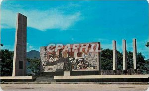 Postcard Modern Monument to Juarez Mexico City at the turn-off Guelatao Carre...