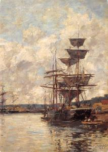 Ships at Le Havre - French