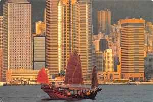 Harbour front View Hong Kong 1992