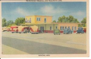 US    PC1441  TRI-STATE BUS TERMINAL, WINONA, MISS.