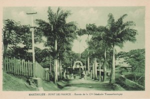 MARTINIQUE - Fort-De-France , 1910s ; Entree de la Cle Generale Transatlantique