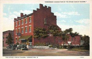 LPS94 Coshocton Ohio Stage Coach Tavern Postcard