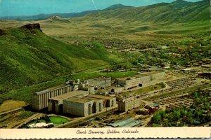 Colorado Golden Coor's Brewery 1978