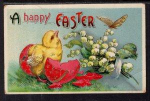 Happy Eatser Chick Flowers Butterfly BIN