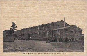 South Carolina Columbia Barracks At Camp Jackson
