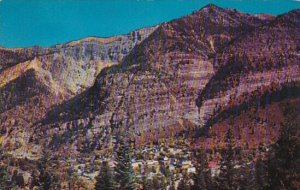 Duray From The Million Dollar Highway Ouray Colorado