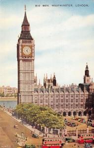UK England London Big Ben Westminster buses, horloge, Clock Tower, turm, tour