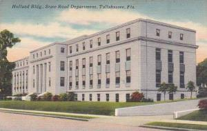 Florida Tallahassee Holland Building State Road Department 1952
