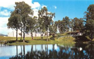 Scotland Postcard The Aviemore Centre from Loch Pulladdern T31