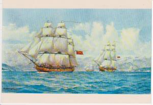 HMS DISCOVERY, CAPTAIN GEORGE VANCOUVER WITH SUTIL AND MEXICANA