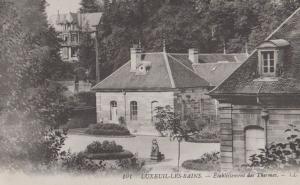 Luxeuil Les Bains Etablissement Des Thermes Old Antique France French Postcard