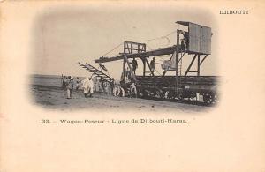 Ethiopia Djibouti Wagon-Poseur - Ligne de Djibouti-Harar