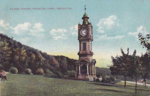 BRIGHTON, Sussex, England, 1900-1910´s; Clock Tower, Preston Park