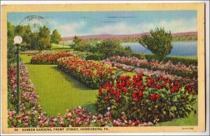 Sunken Garden, Harrisburg PA
