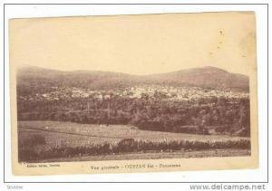 Vue generale - OUEZAN Est, Morocco, 1910s