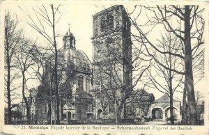Belgium Postcard Montaigu Scherpenheuvel Basilica side wall image