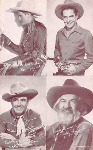Ken Mayward, Gabby Hayes Western Actor Mutoscope Unused