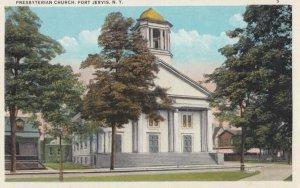PORT JERVIS , New York , 1910s ; Presbyterian Church
