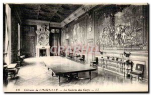 Old Postcard Chateau de Chantilly The Gallery of Certs