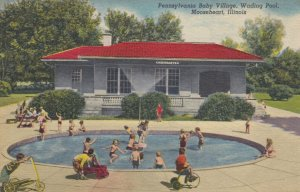 MOOSEHEART , Illinois , 1930-40s ; Baby Village wading pool