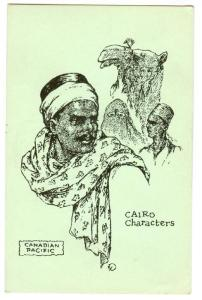 Canadian Pacific, Camels, Cairo Characters, Cairo, Egypt, Africa, 1900-1910s