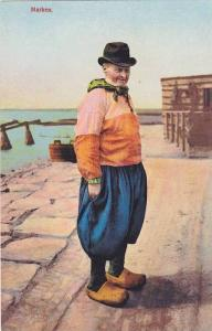 Man Wearing Typical Costume, Marken (North Holland), Netherlands, 1900-1910s