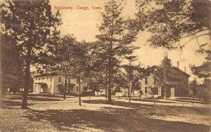 LPS48 OSAGE Iowa Seminary Postcard