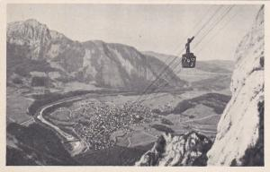 Berchtesgaden , Germany , 30-40s; Predigstuhl Cable Car and View