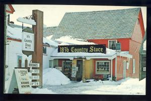 Wilmington, Vermont,VT Postcard, 1836 Country Store, Route #9
