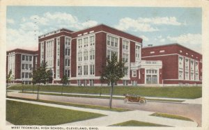 CLEVELAND, Ohio, 1917; West Technical High School
