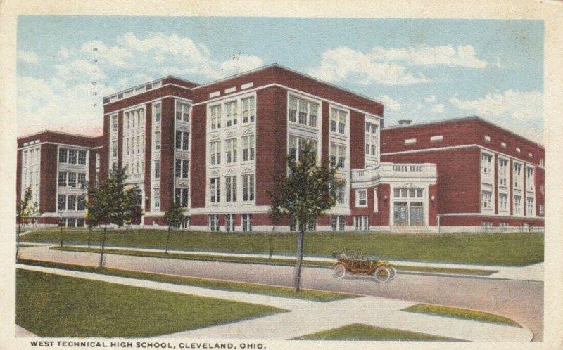 CLEVELAND, Ohio, 1917; West Technical High School