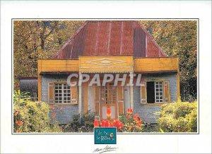 Modern Postcard Reunion Island Case has the Plaine des Palmistes