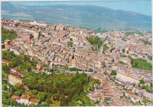 Panorama of Perugia dall'aero, Umbria, Italy