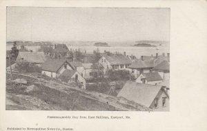 EASTPORT , Maine , 1901-07 ; Passamaquoddy from East Sullivan