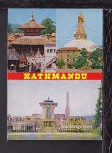 Kathmandu,Nepal Postcard BIN