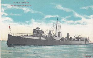 H.M.S. Ranger, British Torpedo Destroyer , 00-10s