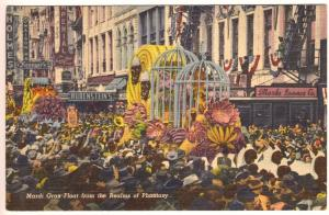 New Orleans Watching the Mardi Gras Parade Review Realms of Fantasy Postcard