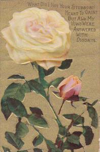 Yellow Rose Stubborn Heart , 1900-10s