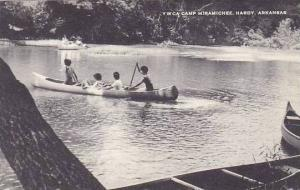 Arkansas Hardy Y W C A Camp Miramichee Canoeing Artvue